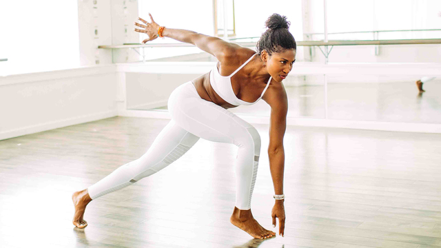 "Koya Webb's ""Total Sculpt 1.0"" Online Video Workouts on Alo Moves"