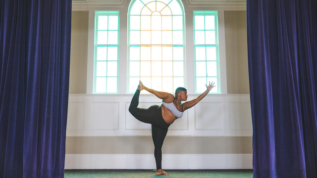 "Jessamyn Stanley's ""Bare Your Soul, Find Your Flow"" Online Video Workouts on Cody"