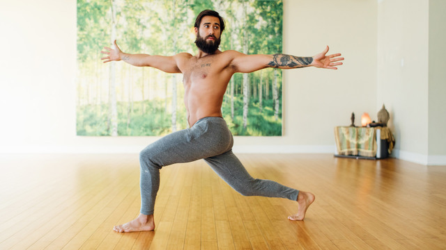 """Patrick Beach's """"Morning Yoga for Beginners"""" Online Video Workouts on Alo Moves"""