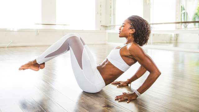 "Koya Webb's ""Total Sculpt 2.0"" Online Video Workouts on Alo Moves"