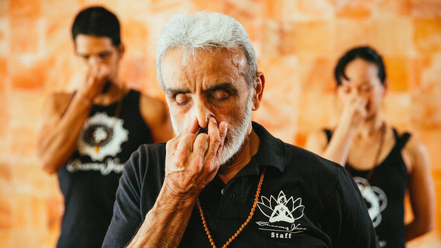"Sri Dharma Mittra's ""Breath of Life"" Online Video Workouts on Cody"