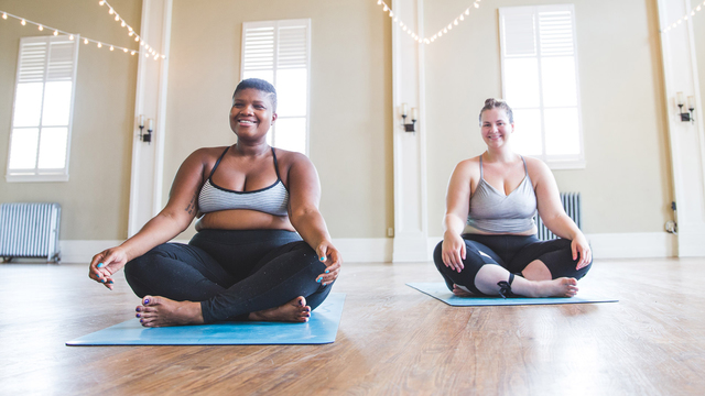 "Dana Falsetti & Jessamyn Stanley's ""Begin to EmBody Yoga"" Online Video Workouts on Cody"