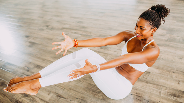 "Koya Webb's ""Total Sculpt & Flow Extreme"" Online Video Workouts on Cody"