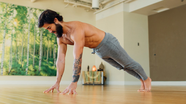 """Patrick Beach's """"Strong Yoga for Beginners"""" Online Video Workouts on Alo Moves"""