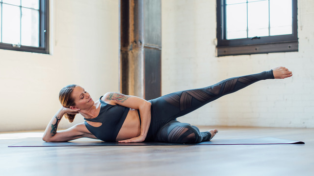 "Adrienne Kimberley's ""Seat Sizzle"" Online Video Workouts on Alo Moves"