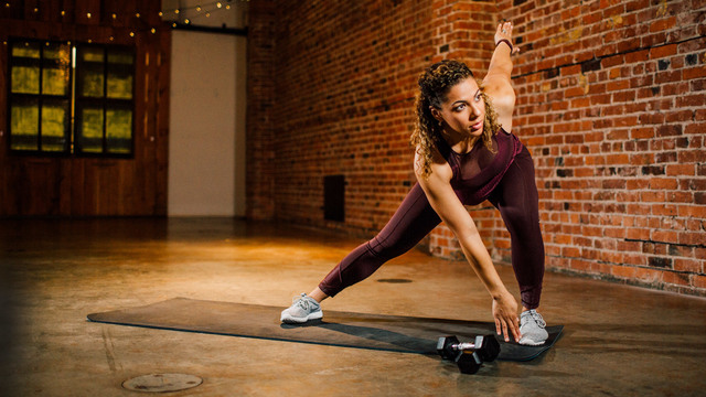 "Jennifer Forrester's ""Phoenix: Prenatal HIIT"" Online Video Workouts on Alo Moves"