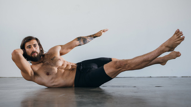 "Patrick Beach's ""Core 10x10"" Online Video Workouts on Alo Moves"
