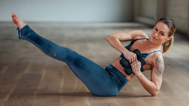 "Adrienne Kimberley's ""Barre Sport"" Online Video Workouts on Alo Moves"