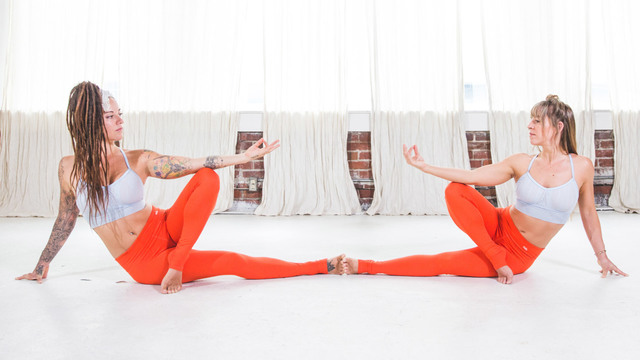 "Steph Gongora & Erin Kelly's ""Invoke the Goddess Within"" Online Video Workouts on Cody"