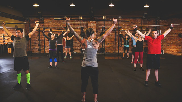 """Diane Fu's """"FuBarbell Weightlifting Workshop"""" Online Video Workouts on Cody"""