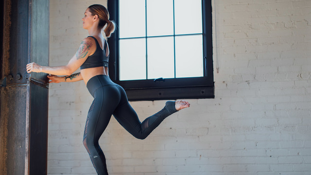 "Adrienne Kimberley's ""Leg Work"" Online Video Workouts on Alo Moves"