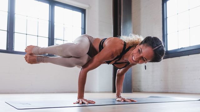"Claudine Lafond's ""Let It Go Flow"" Online Video Workouts on Alo Moves"