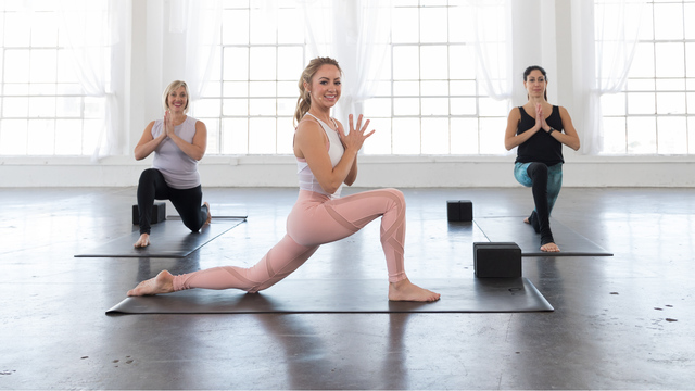 "Jacquelyn Umof's ""Gentle Yoga"" Online Video Workouts on Alo Moves"
