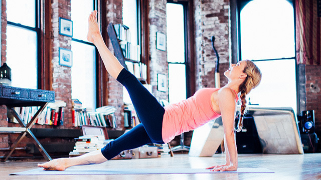 "Kristin McGee's ""Mat Pilates Level II"" Online Video Workouts on Cody"