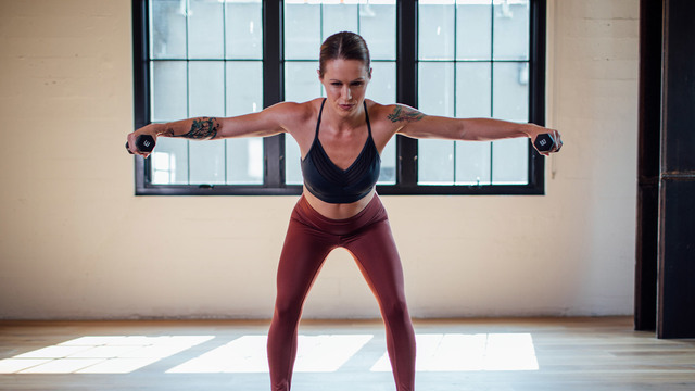 "Adrienne Kimberley's ""Arm Alchemy"" Online Video Workouts on Alo Moves"