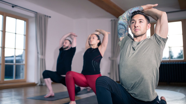 "Dylan Werner's ""Buddha Palms Yoga"" Online Video Workouts on Alo Moves"