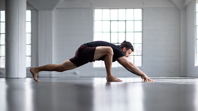 "Calvin Corzine's ""Yoga For Runners"" Online Video Workouts on Alo Moves"