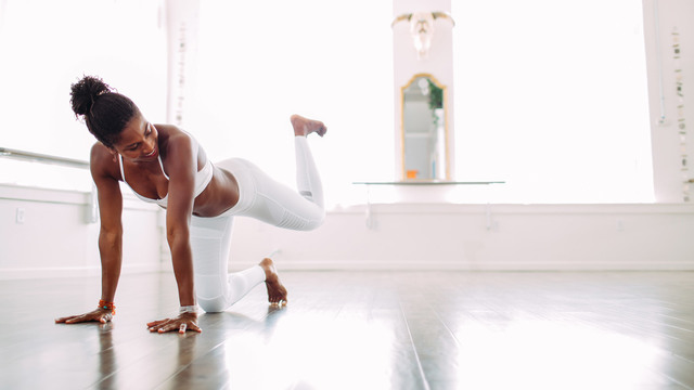 "Koya Webb's ""Total Sculpt & Flow"" Online Video Workouts on Alo Moves"