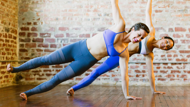"""MacKenzie Miller & Briohny Smyth's """"FitFlow"""" Online Video Workouts on Alo Moves"""