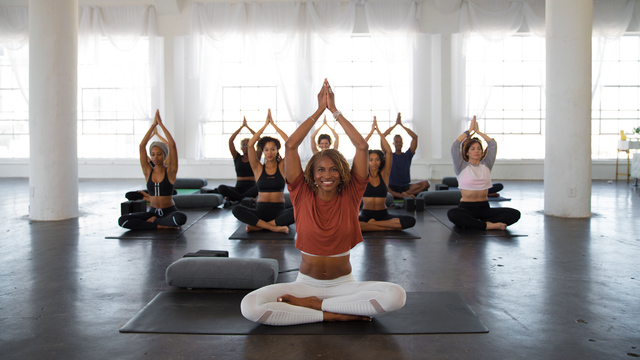 "Koya Webb's ""Get Loved Up: Flexibility"" Online Video Workouts on Alo Moves"