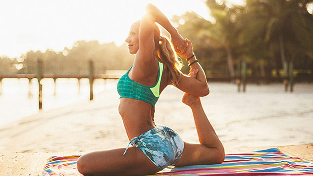 """Beach Yoga Body"" Online Video Workouts"
