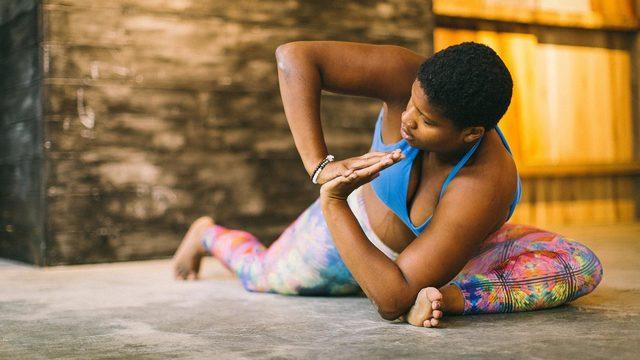 "Jessamyn Stanley's ""EveryBody Yoga"" Online Video Workouts on Cody"